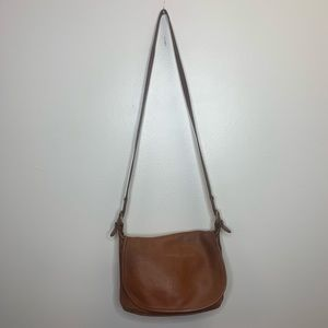 Coach Brown Vintage Leather Crossbody